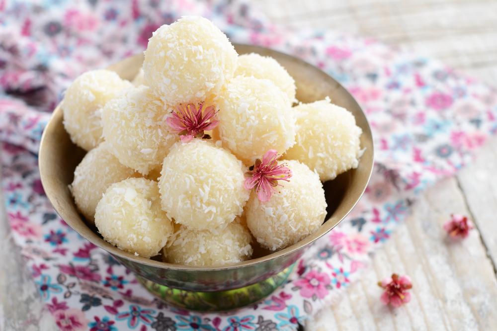 Zesty Coconut Lemon Balls
