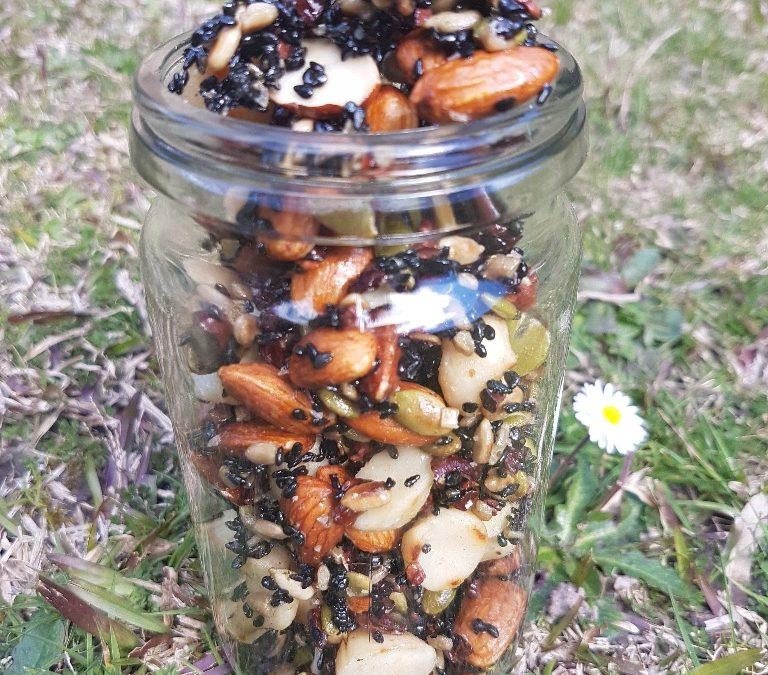 Maple Glazed Nuts (Emma's now not so secret recipe)